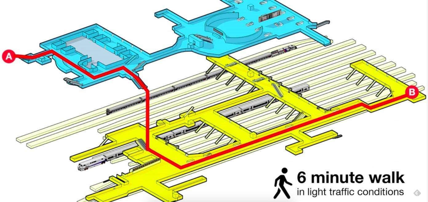 Penn Station Nyc Map Inside.Niujorko Penn Stotis Map Penn Station Nyc Metro Zemėlapis
